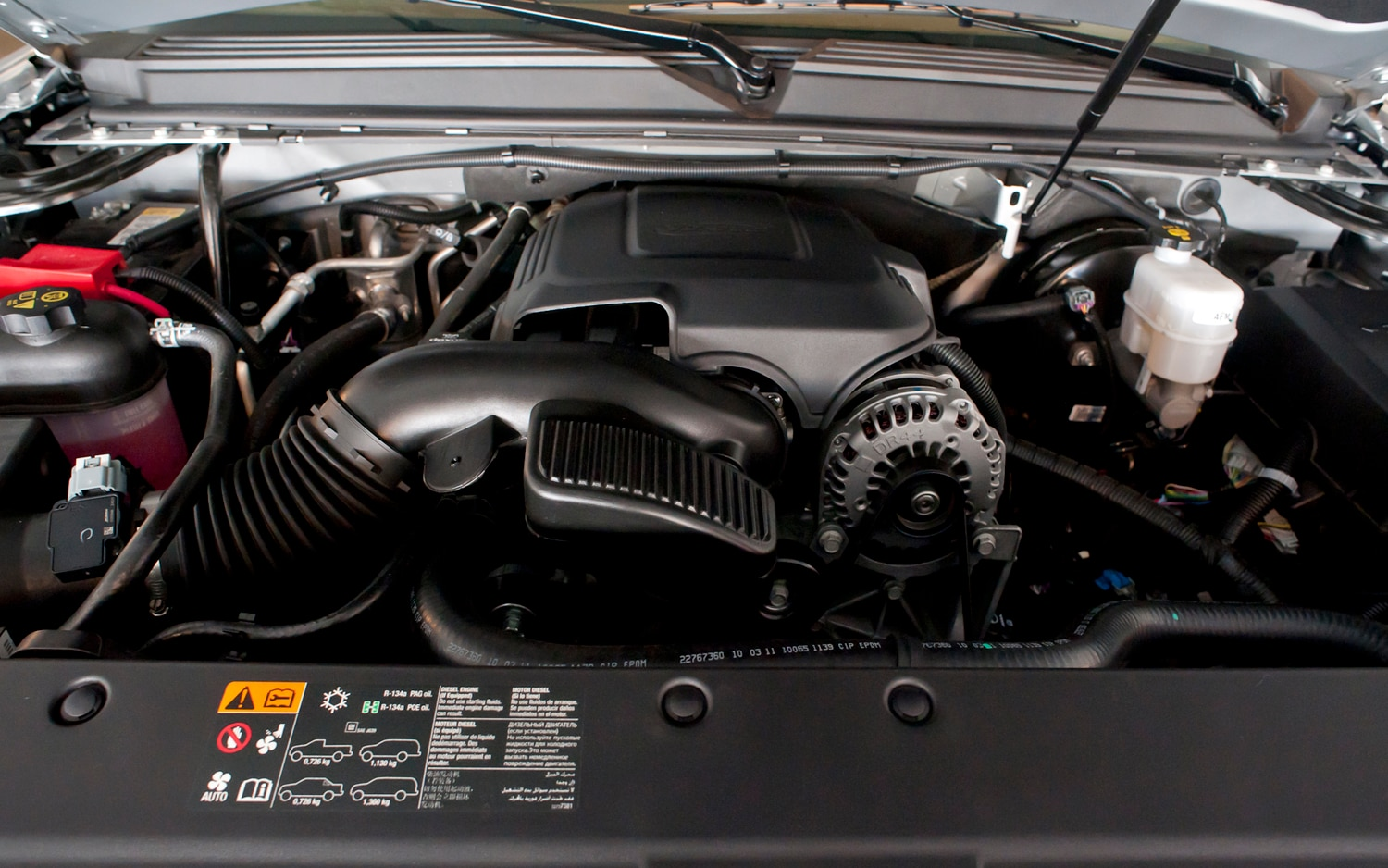 2012 Chevrolet Tahoe Engine