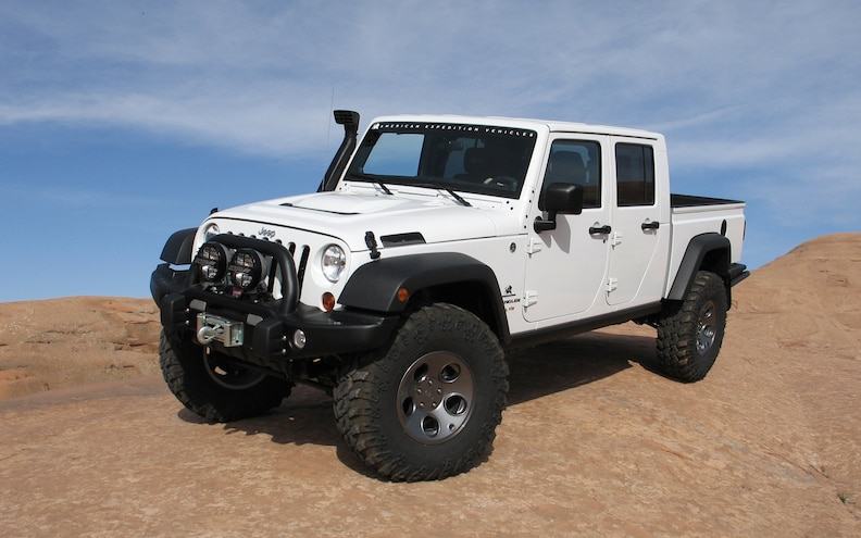 First Drive: 2012 AEV Jeep Brute Double Cab Hemi