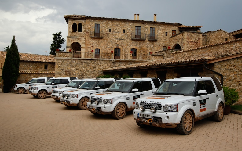 Land Rover Catalonia Experience: Land Rover Discovery 4 HSE
