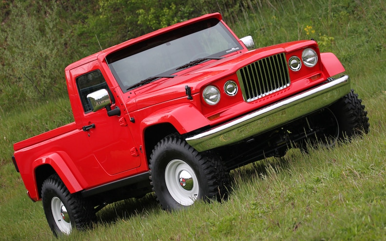 Jeep J 12 Concept Front Passenger Side Three Quarters