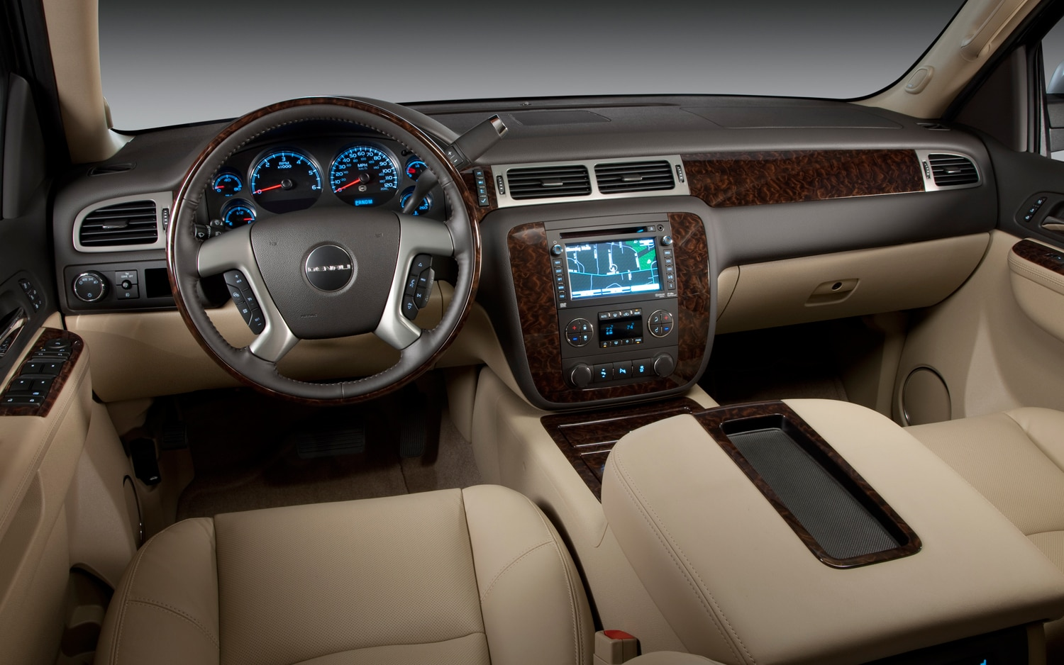 2013 GMC Yukon Denali Dash View