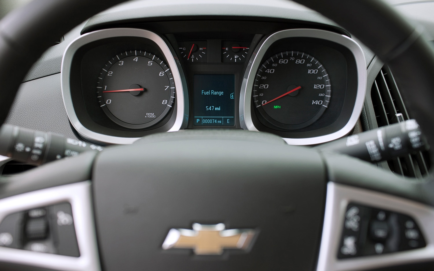 2013 Chevrolet Equinox Dash Guages