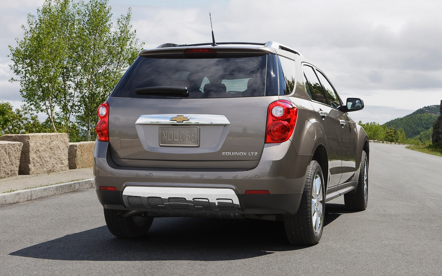 2013 Chevrolet Equinox Rear