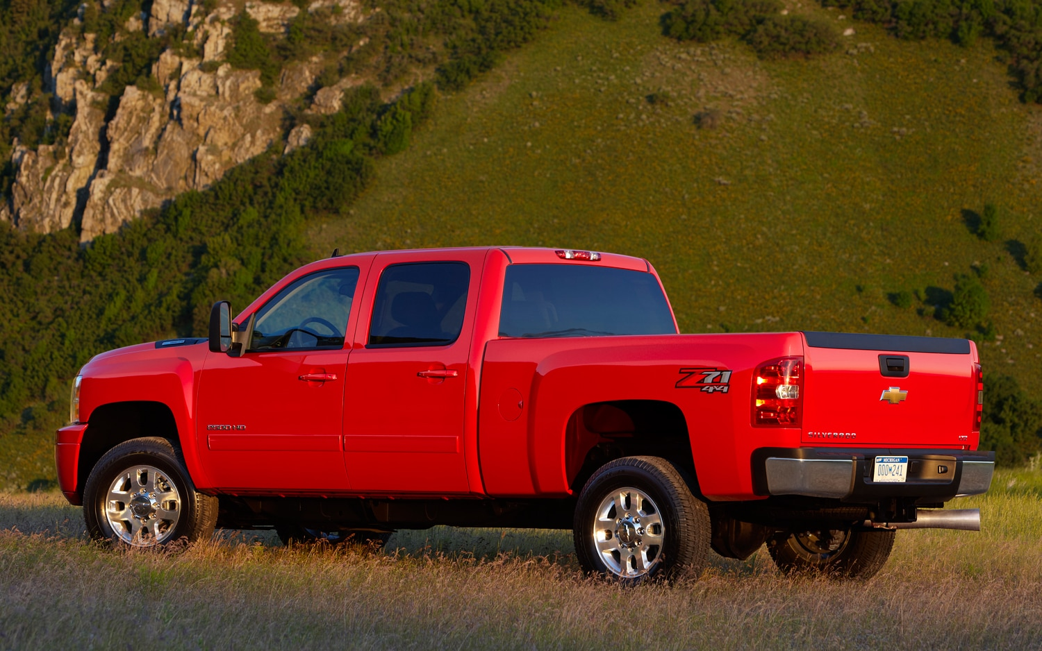 2013 Chevrolet Silverado 2500 HD Rear