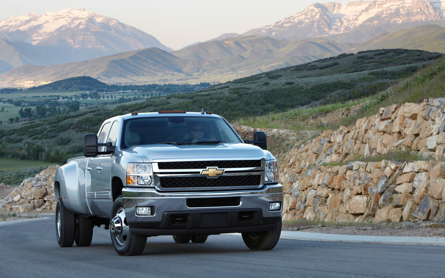 2013 Chevrolet Silverado HD Passengers Side Front View