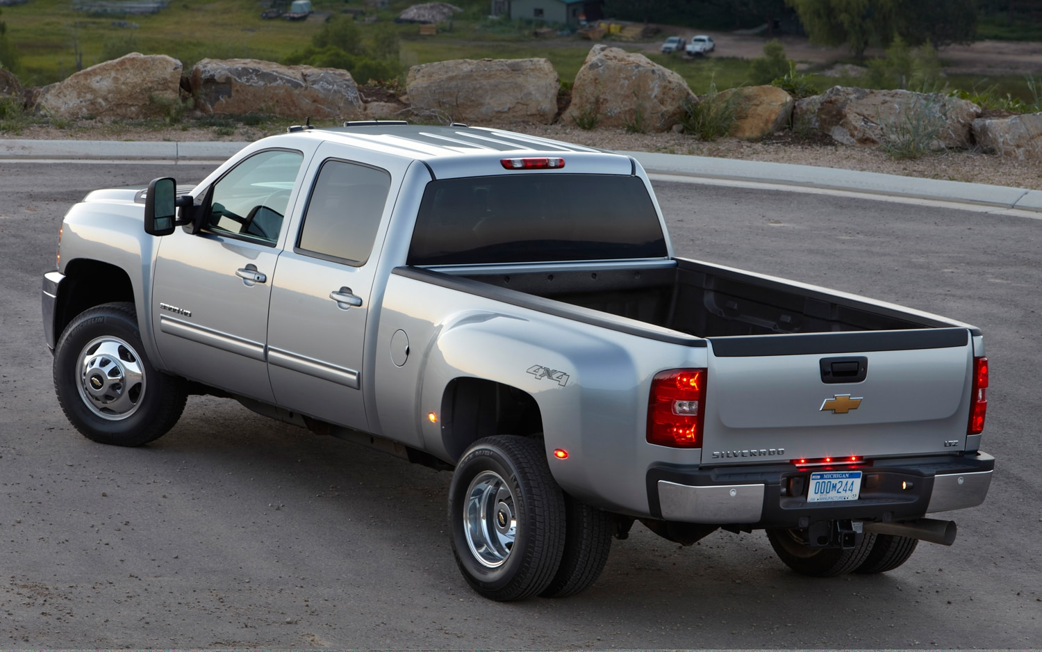 2013 Chevrolet Silverado HD Rear