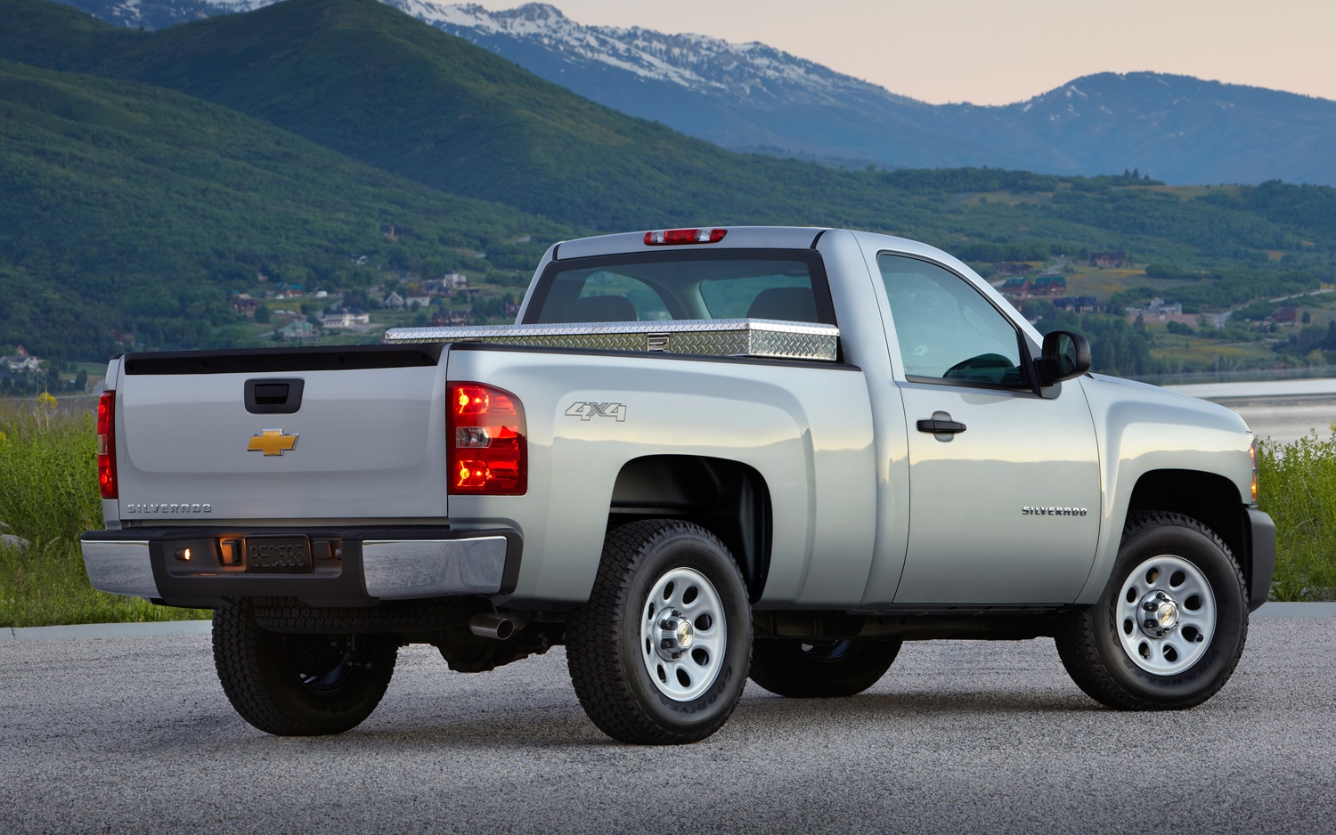 2013 Chevrolet Silverado Work Truck Rear