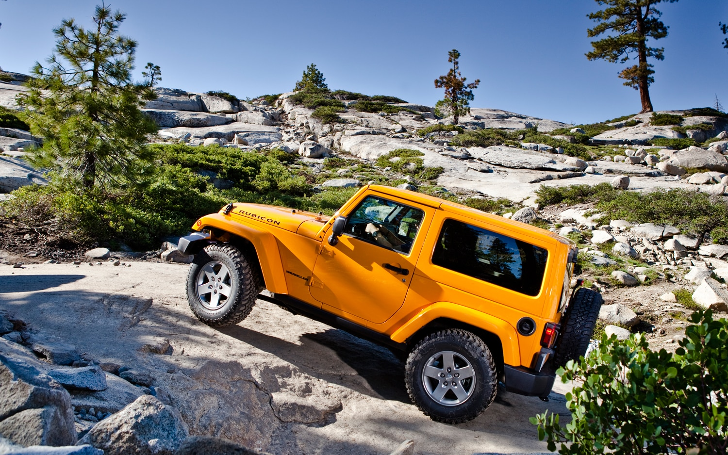 2012 Jeep Wrangler Side View