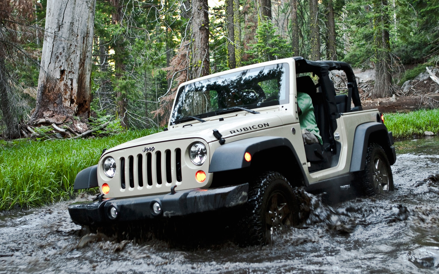2012 Jeep Wrangler Rubicon Front View