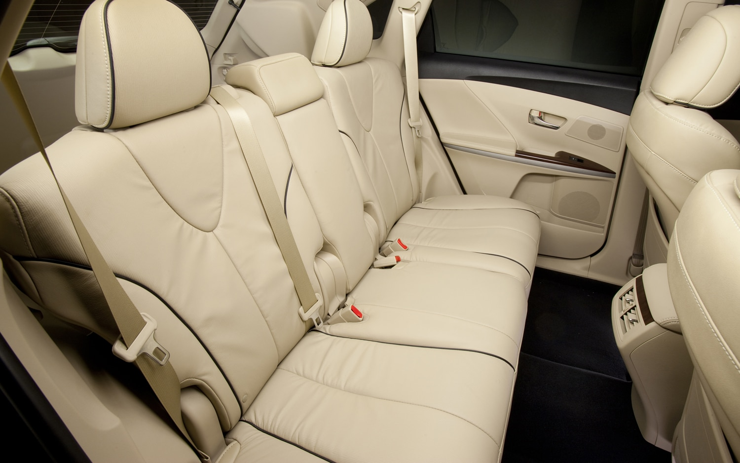2013 Toyota Venza Rear Seating