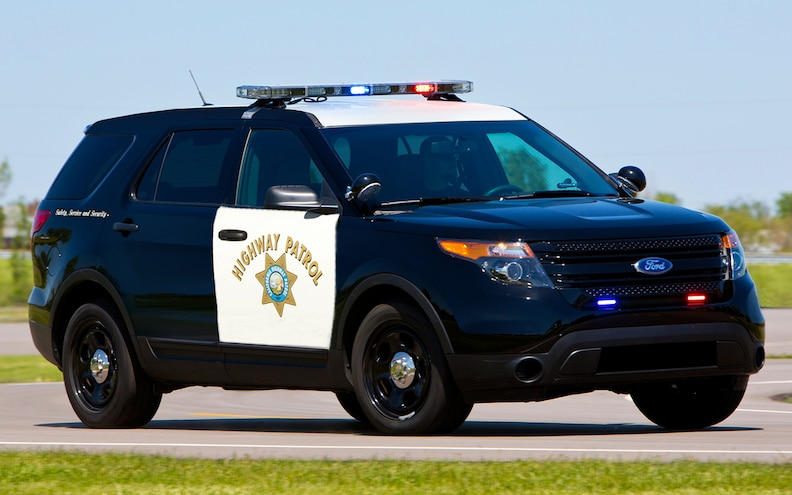 Ford Police Interceptor Utility CHP's Choice: California Selects Explorer-Based SUV as New Cruiser