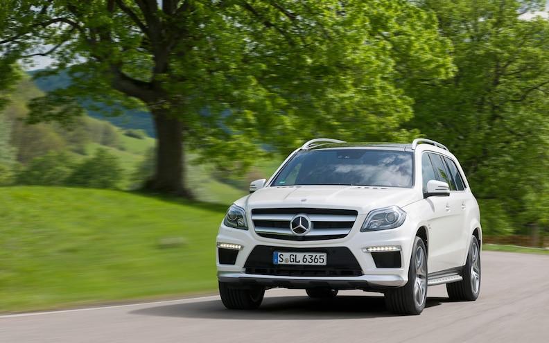 First Look: 2013 Mercedes-Benz GL 63 AMG