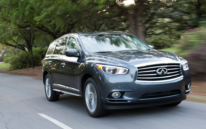 NHTSA Opens Investigation into 2013 Infiniti JX for Braking Issues
