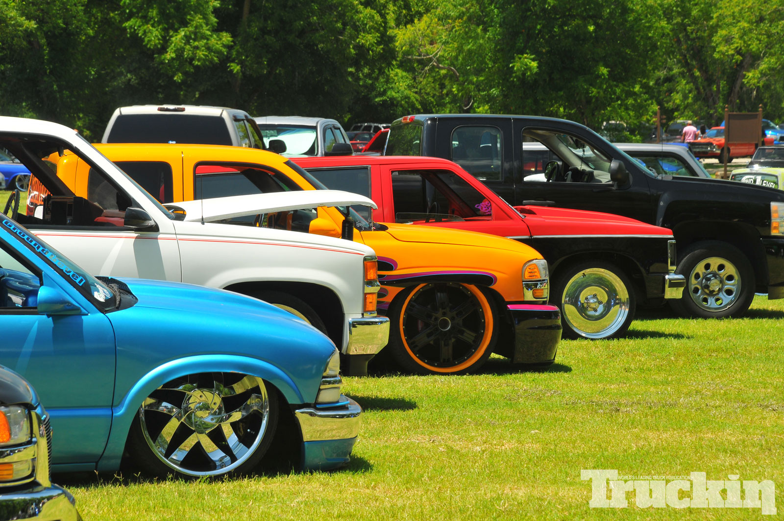 summer Showdown custom Truck Show