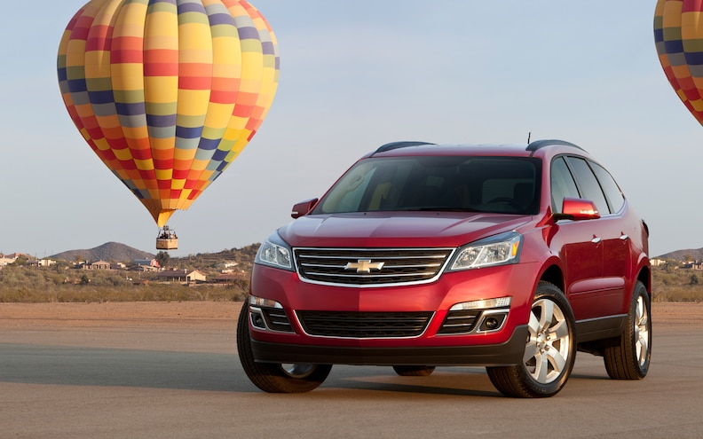 2013 Chevrolet Traverse First Drive