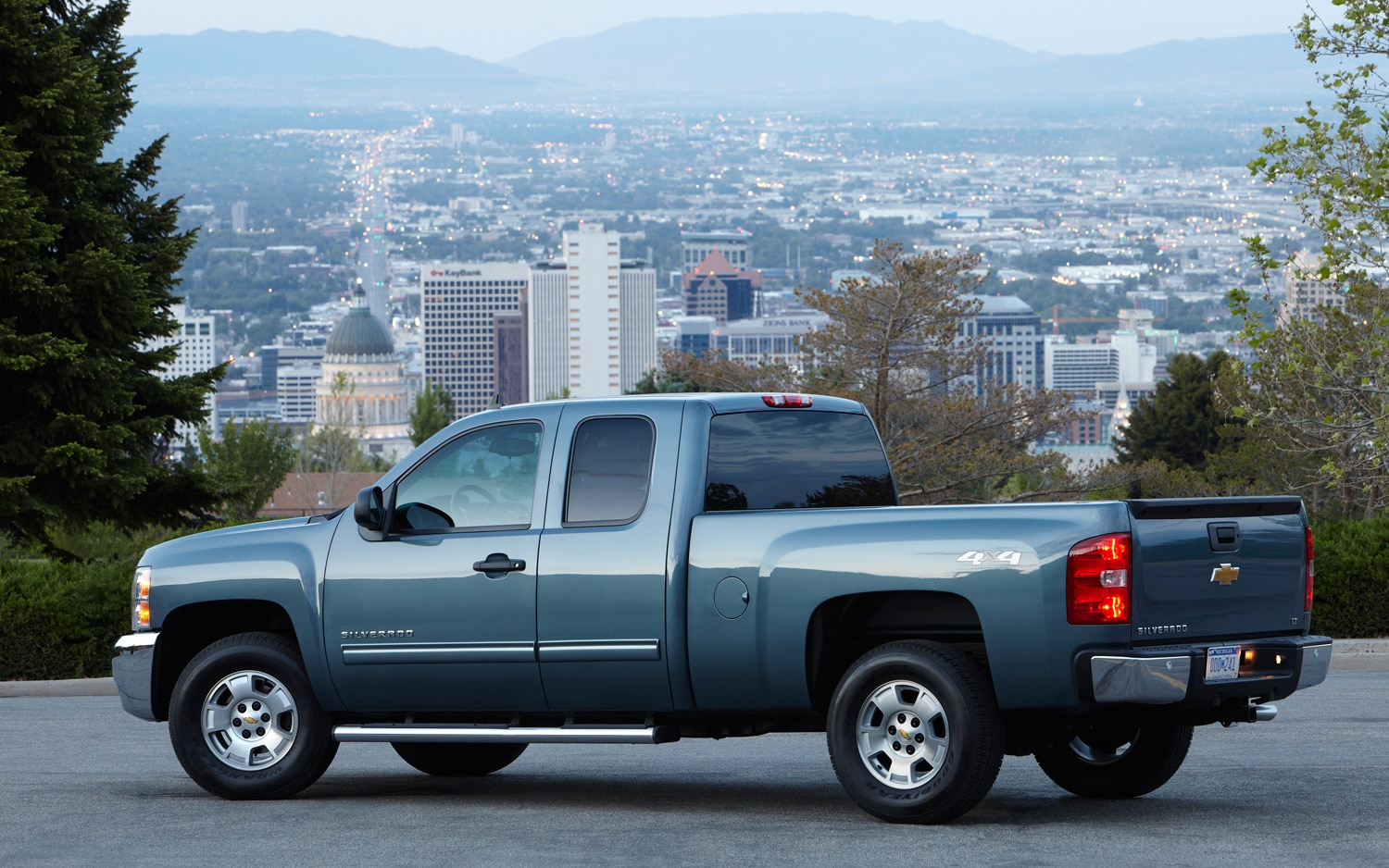 2013 Chevrolet Silverado LT Rear