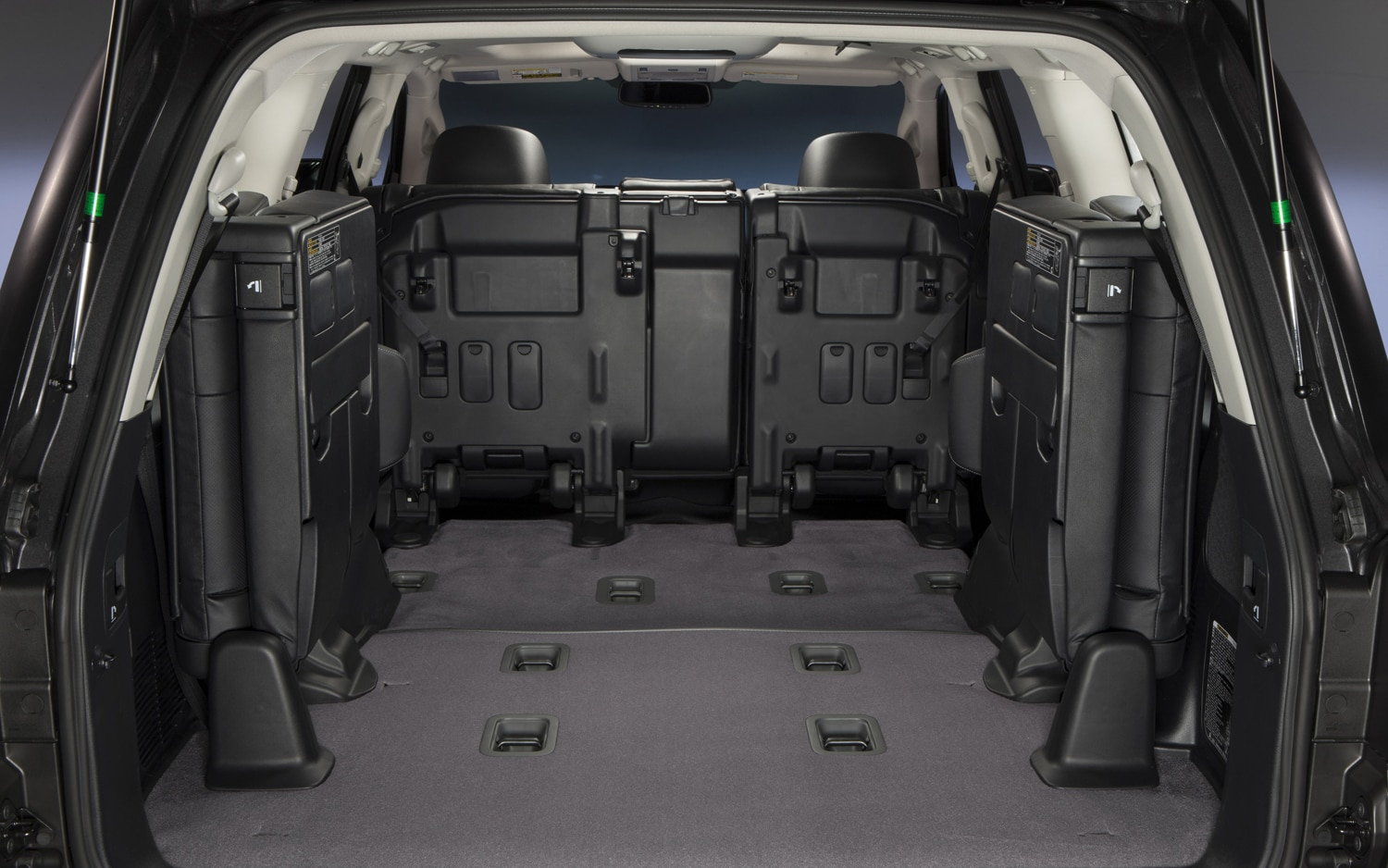 2013 Toyota Land Cruiser Rear Seating Folded