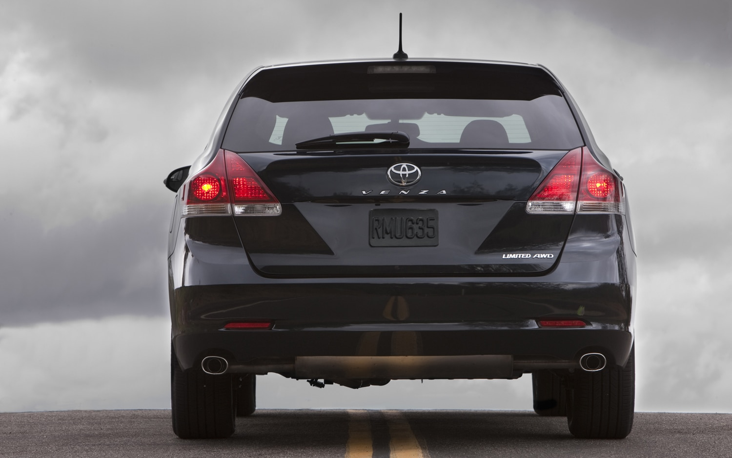 2013 Toyota Venza Rear View