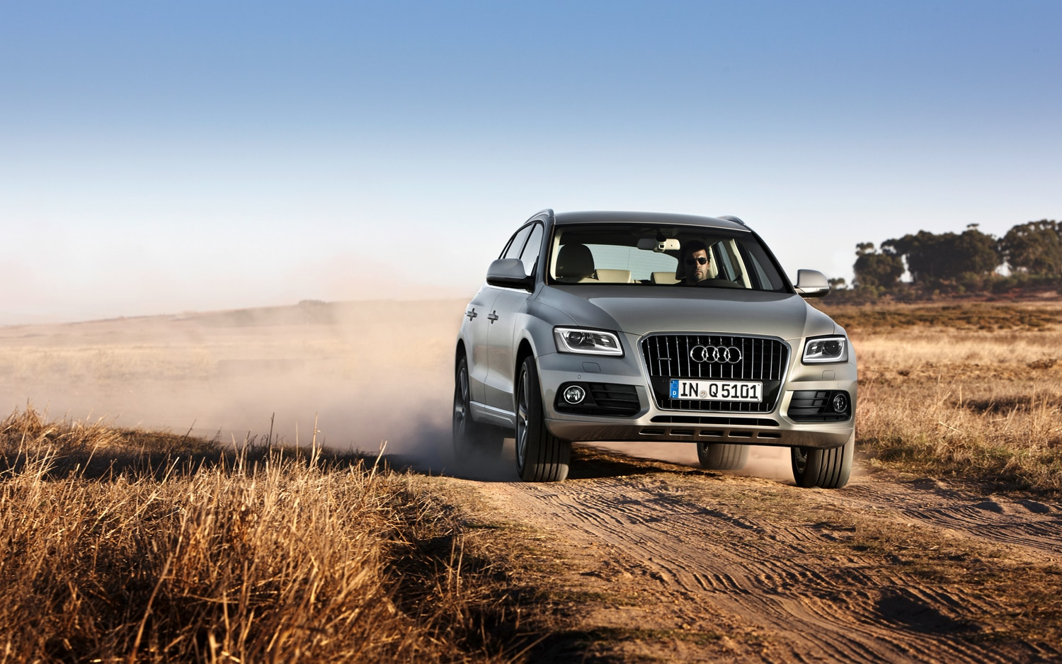 2013 Audi Q5 Front End In Motion