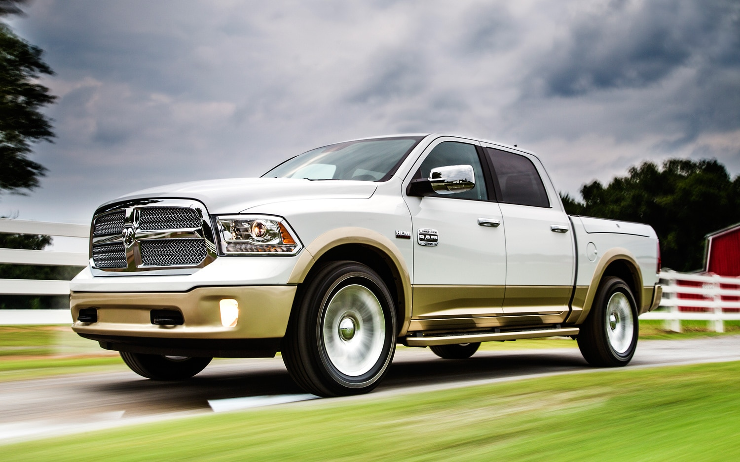 2013 Ram 1500 Front View In Motion