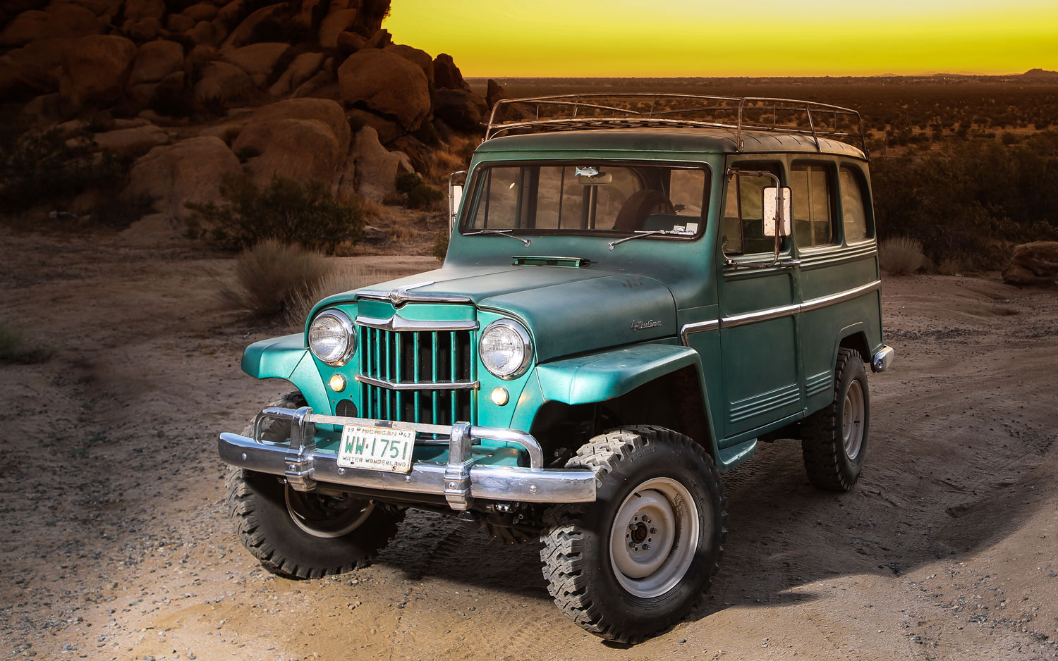 1962 Willys Wagon First Drive Photo Image Gallery