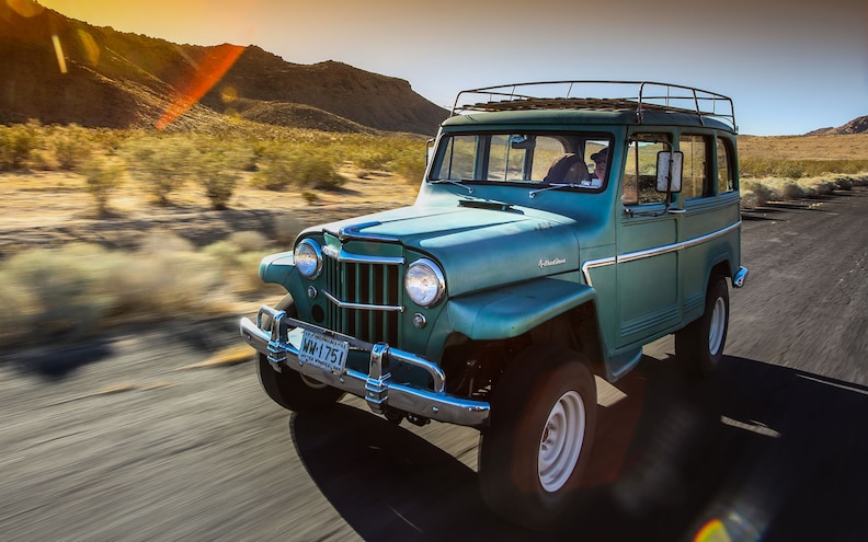 1962 Willys Wagon First Drive