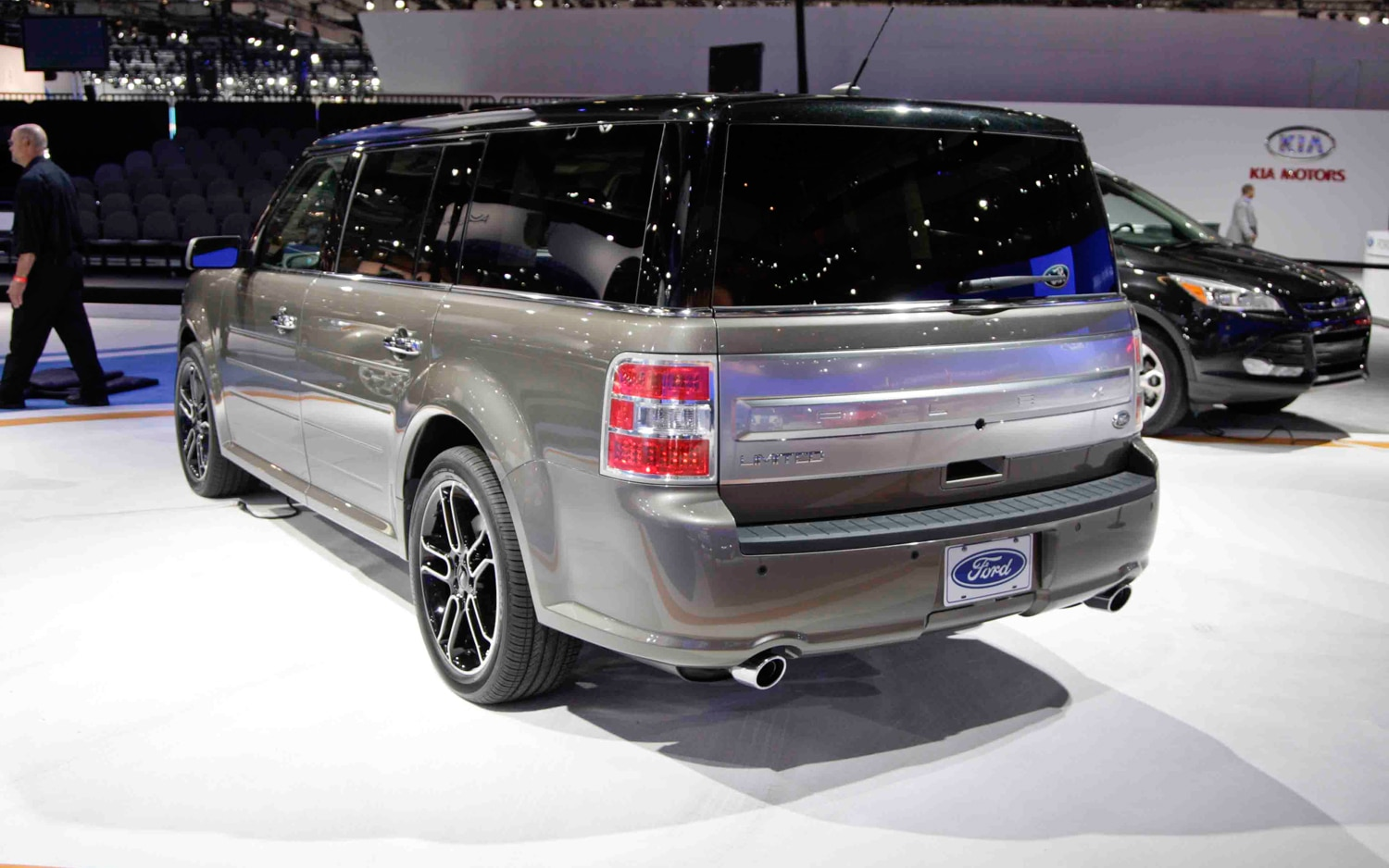 2013 Ford Flex Rear Left Side View