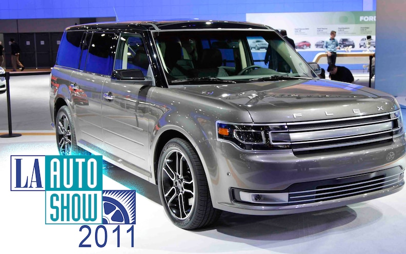 2011 L.A. Auto Show: 2013 Ford Flex Big Presence at LA Auto Show