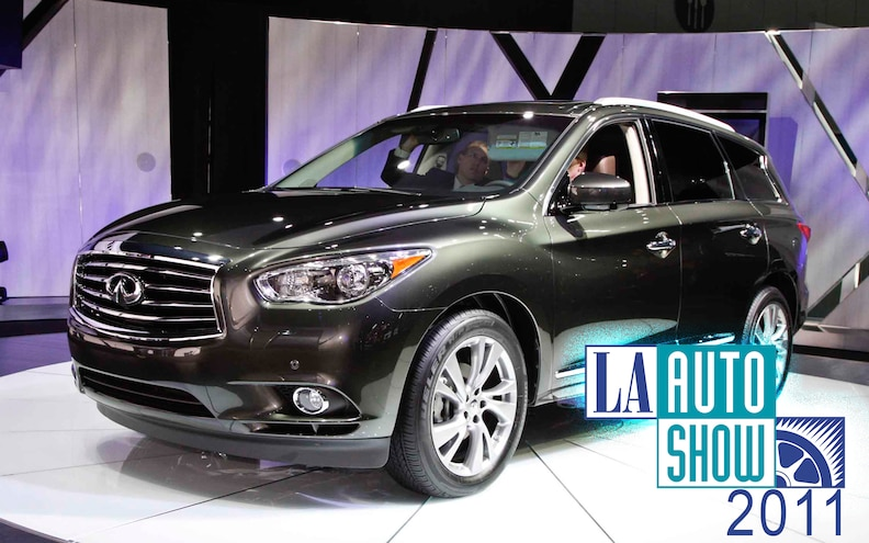 2011 L.A. Auto Show: 2013 Infiniti JX Crossover Specs Revealed, Starts at $42,500