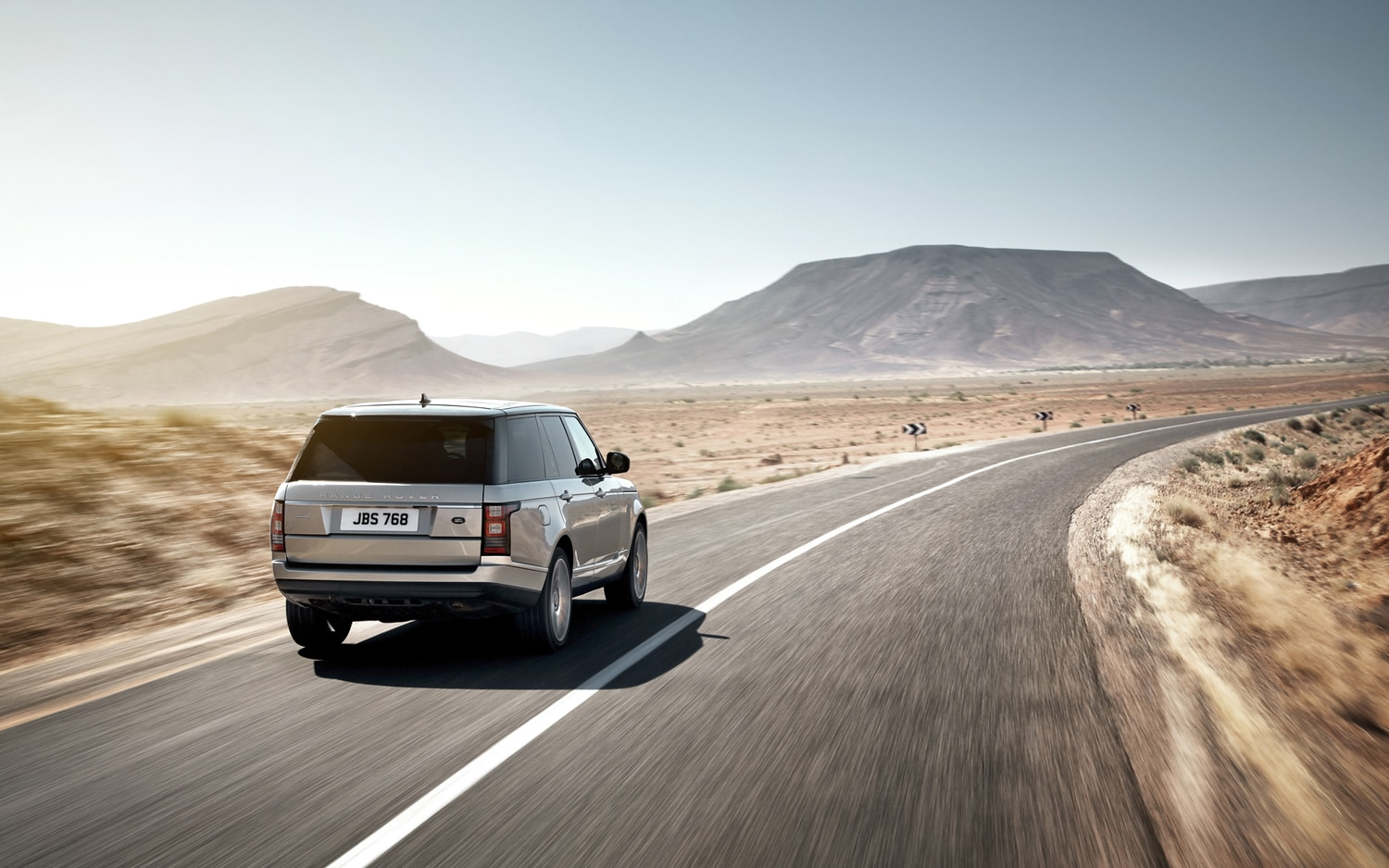 2013 Land Rover Range Rover Rear In Motion