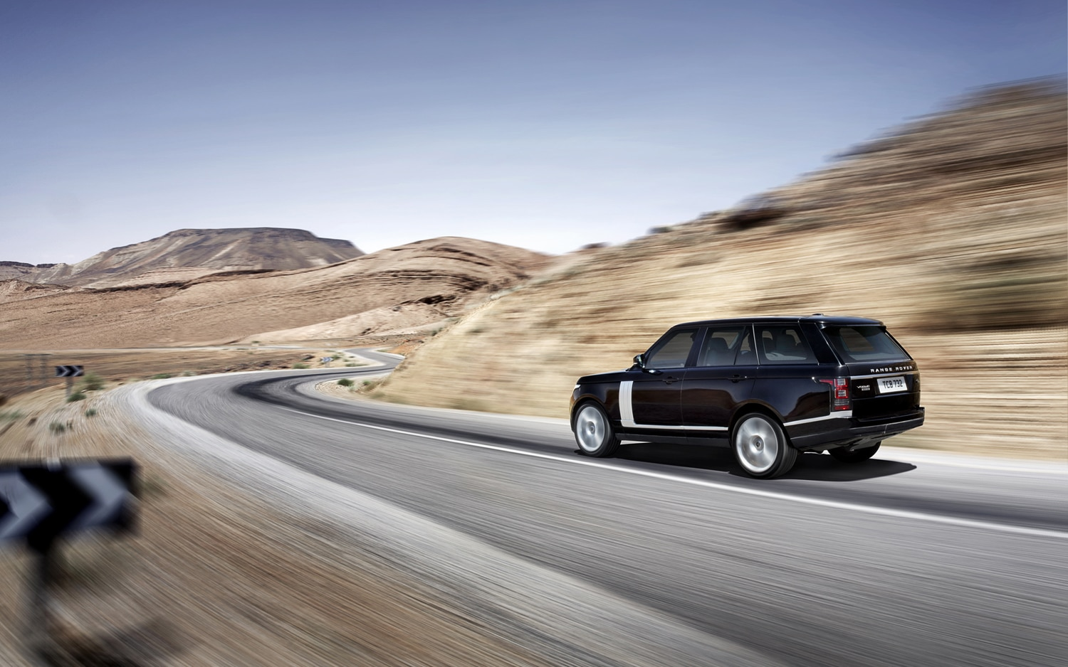 2013 Land Rover Range Rover Rear Three Quarter Turn