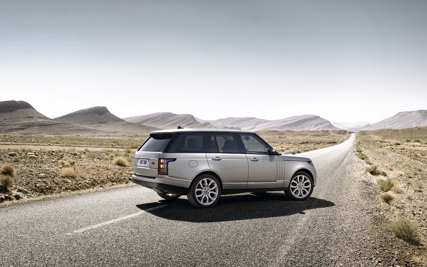 2013 Land Rover Range Rover Rear Three Quarters 2