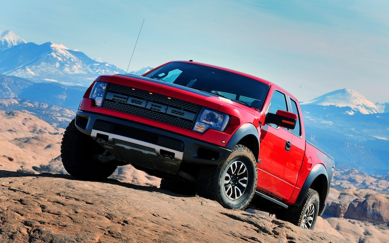 First Drive: 2012 Ford F-150 SVT Raptor