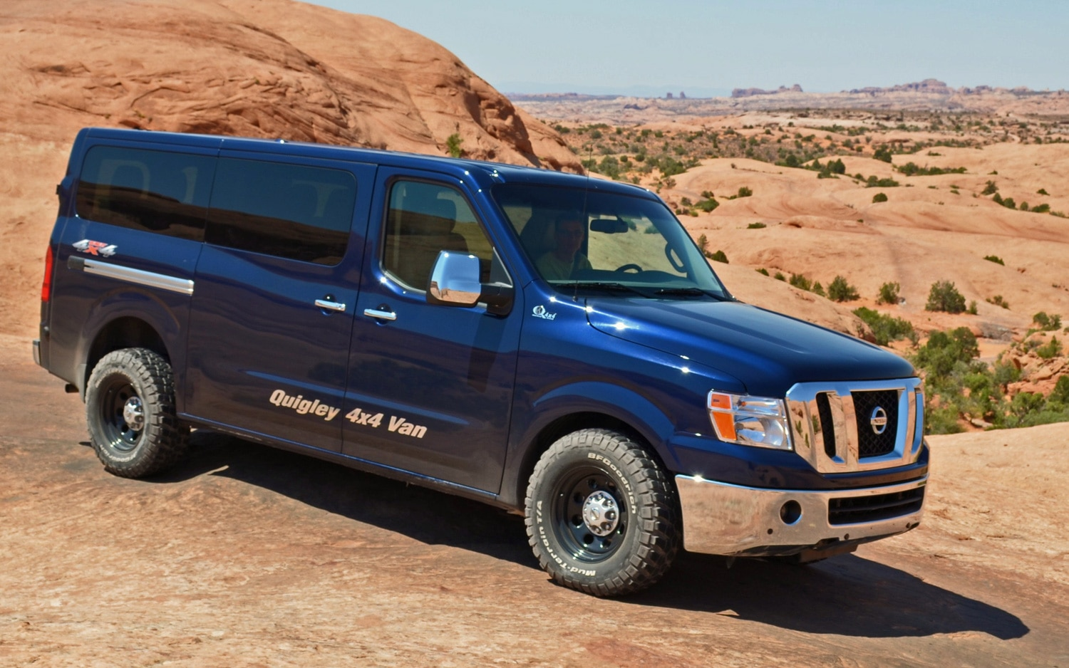 Quigley's Nissan NV 4x4 Conversion - Performance - Truck Trend