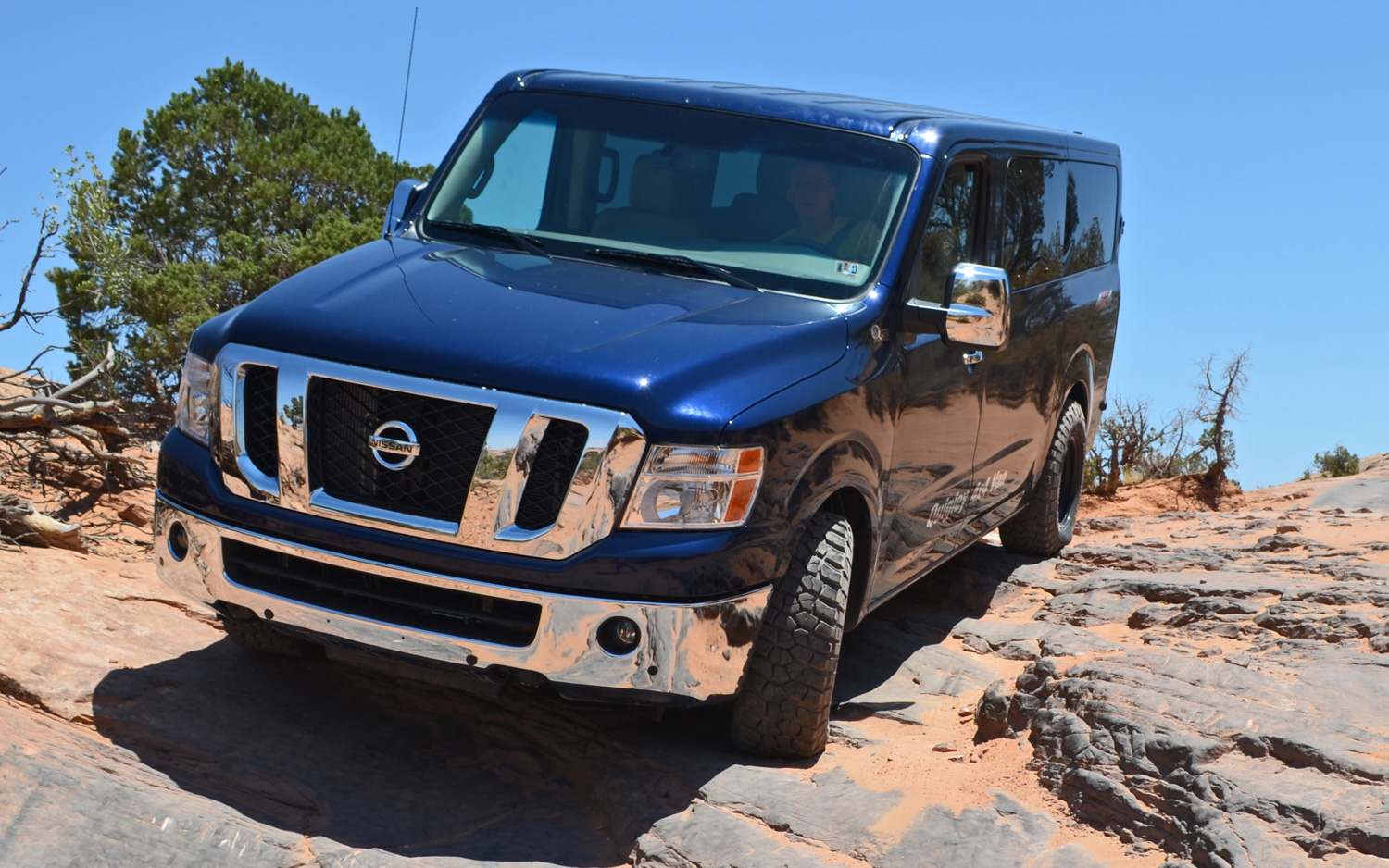 Gaining Traction: Quigley's Nissan NV 4x4 Conversion Photo