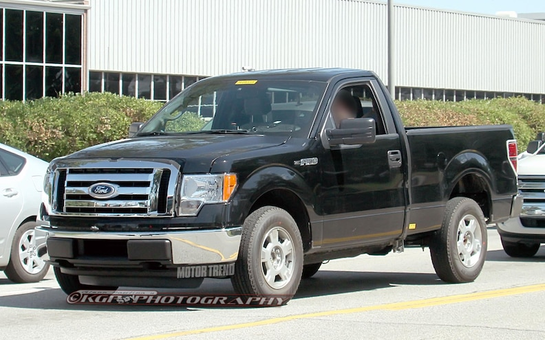 2015 Ford F-150 Aluminum-Body Prototypes Spotted in Michigan