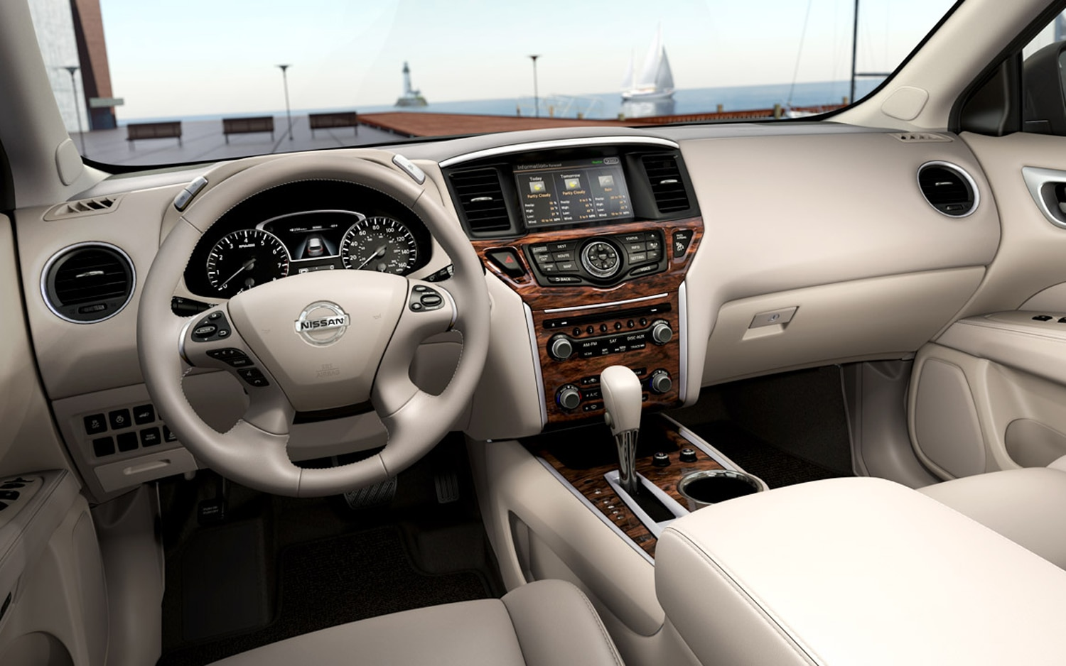 2013 Nissan Pathfinder to Offer Premium Interior and Tech