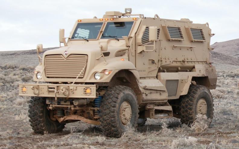 Navistar Defense Receives $282 Million Order for MRAP Upgrades