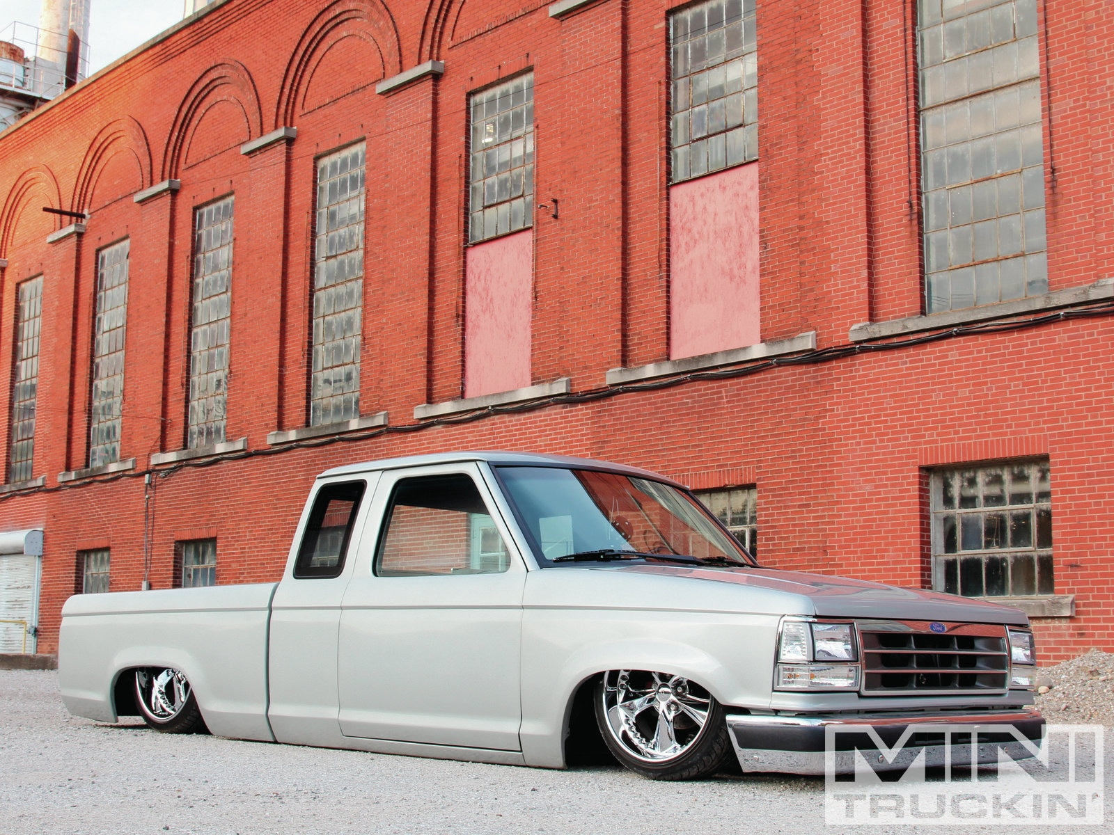 1992 Ford Ranger foose Nitrous Wheels