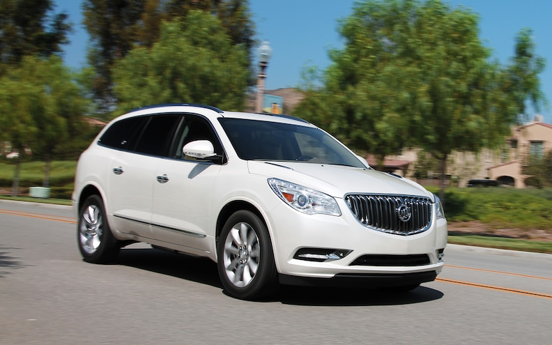 2013 Buick Enclave AWD First Test