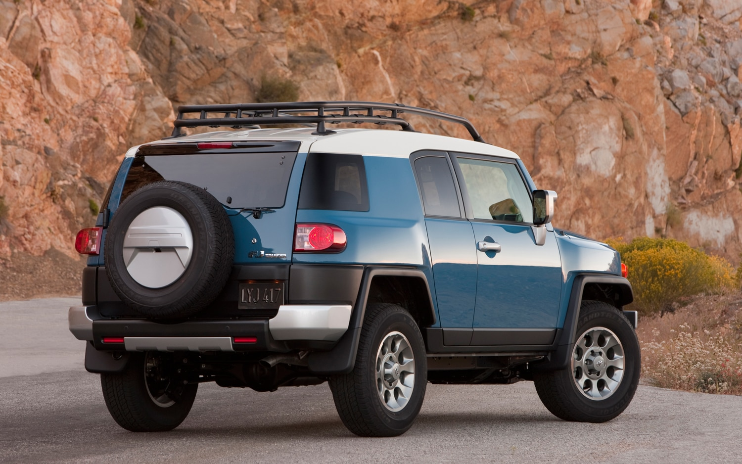 2013 Toyota FJ Cruiser Rear