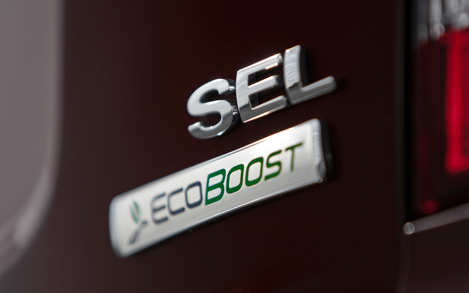 2012 Ford Edge SEL Ecoboost Badge
