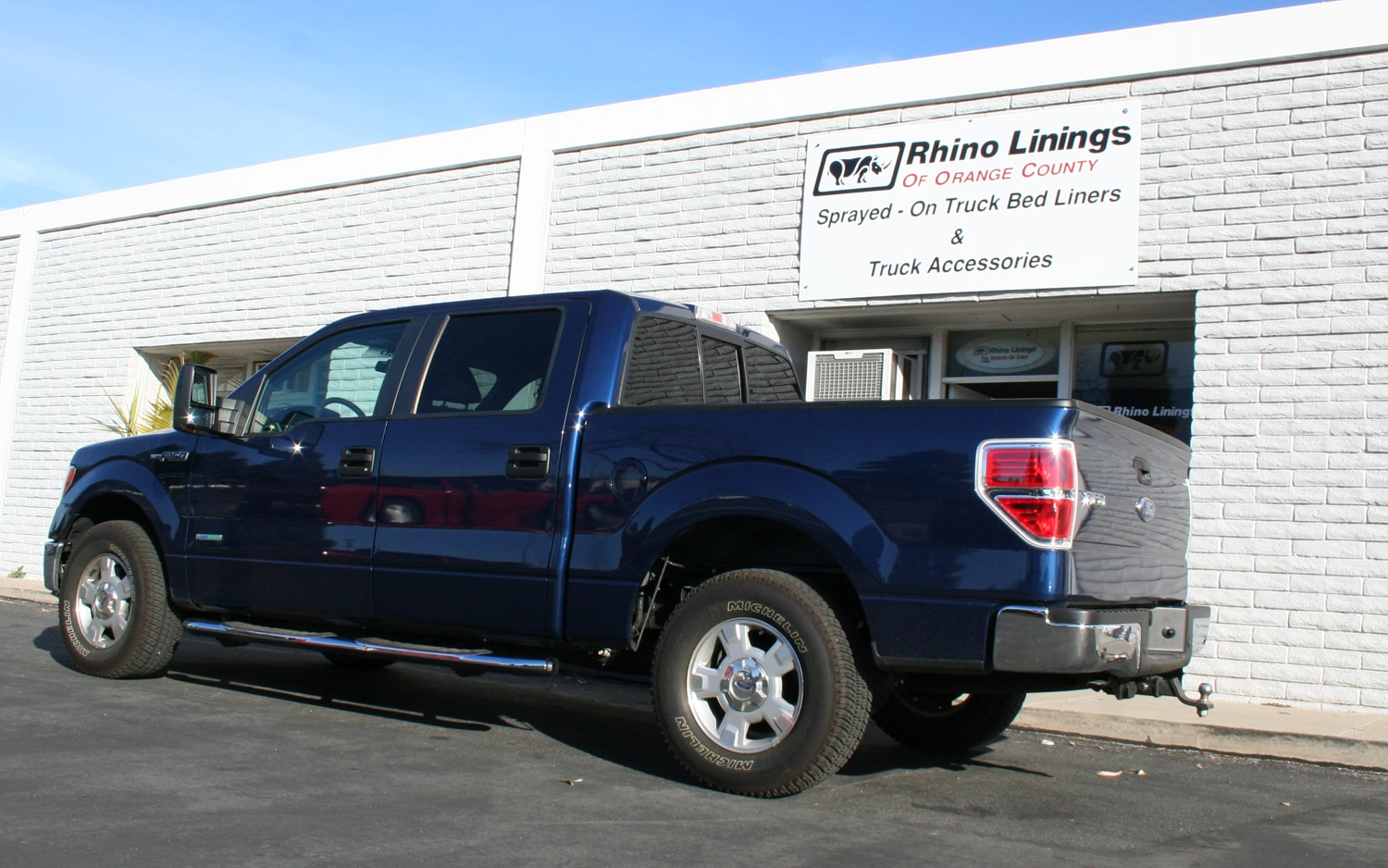 2012 Ford F 150 Ecoboost Project Work Truck Rhino Linings Sprayed On