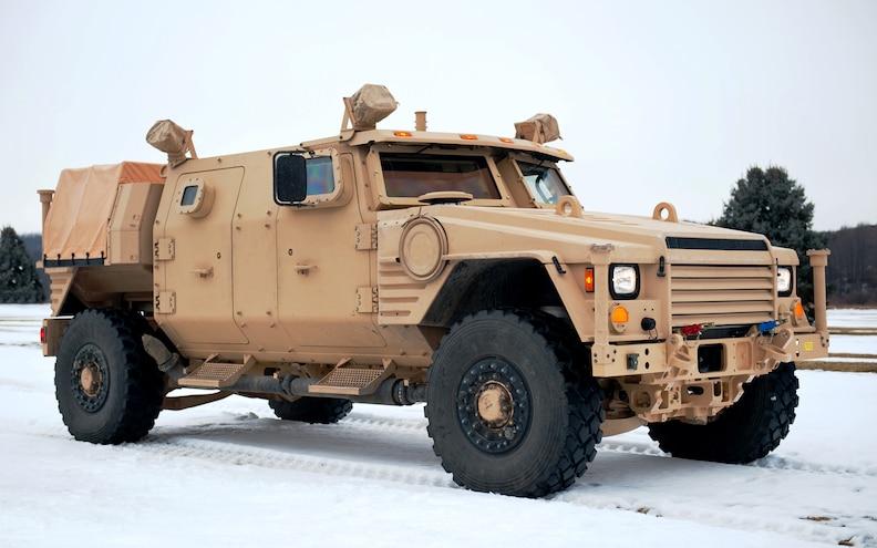 Lockheed Martin JLTV Front