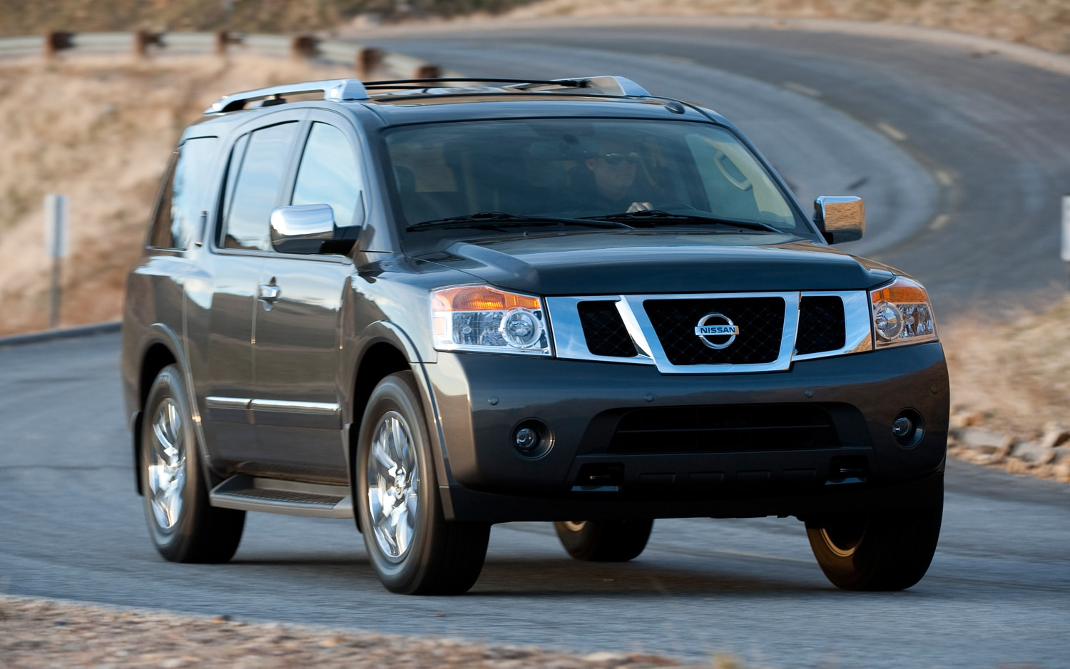 2012 Nissan Armada Front Three Quarters