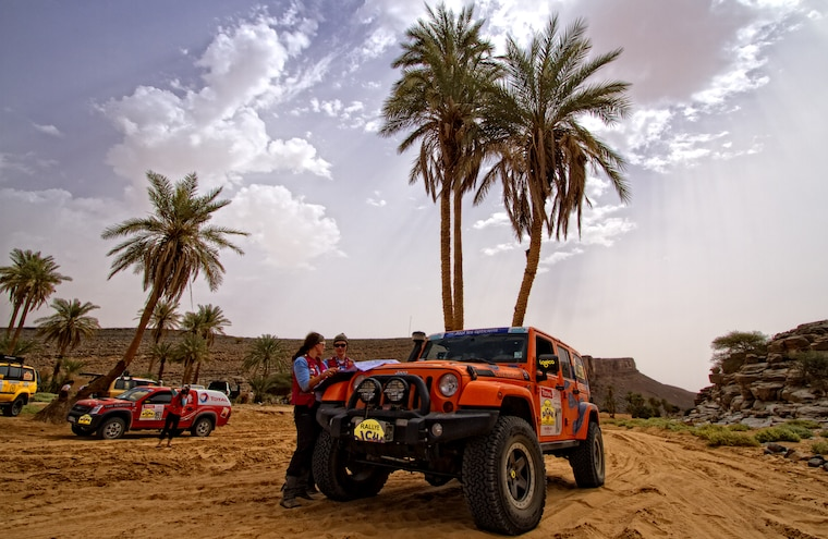 U.S. Team Lerner Reina Places Eighth Overall in 2012 Rallye Aicha des Gazelles Morocco