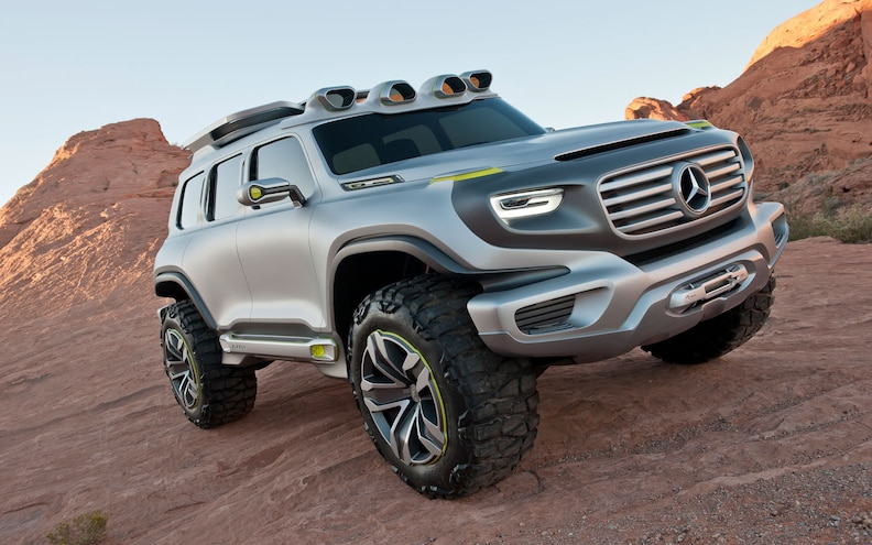 Mercedes-Benz Ener-G-Force Concept First Look