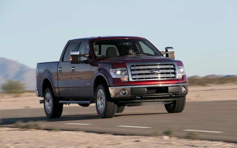 August 2013 Truck Sales