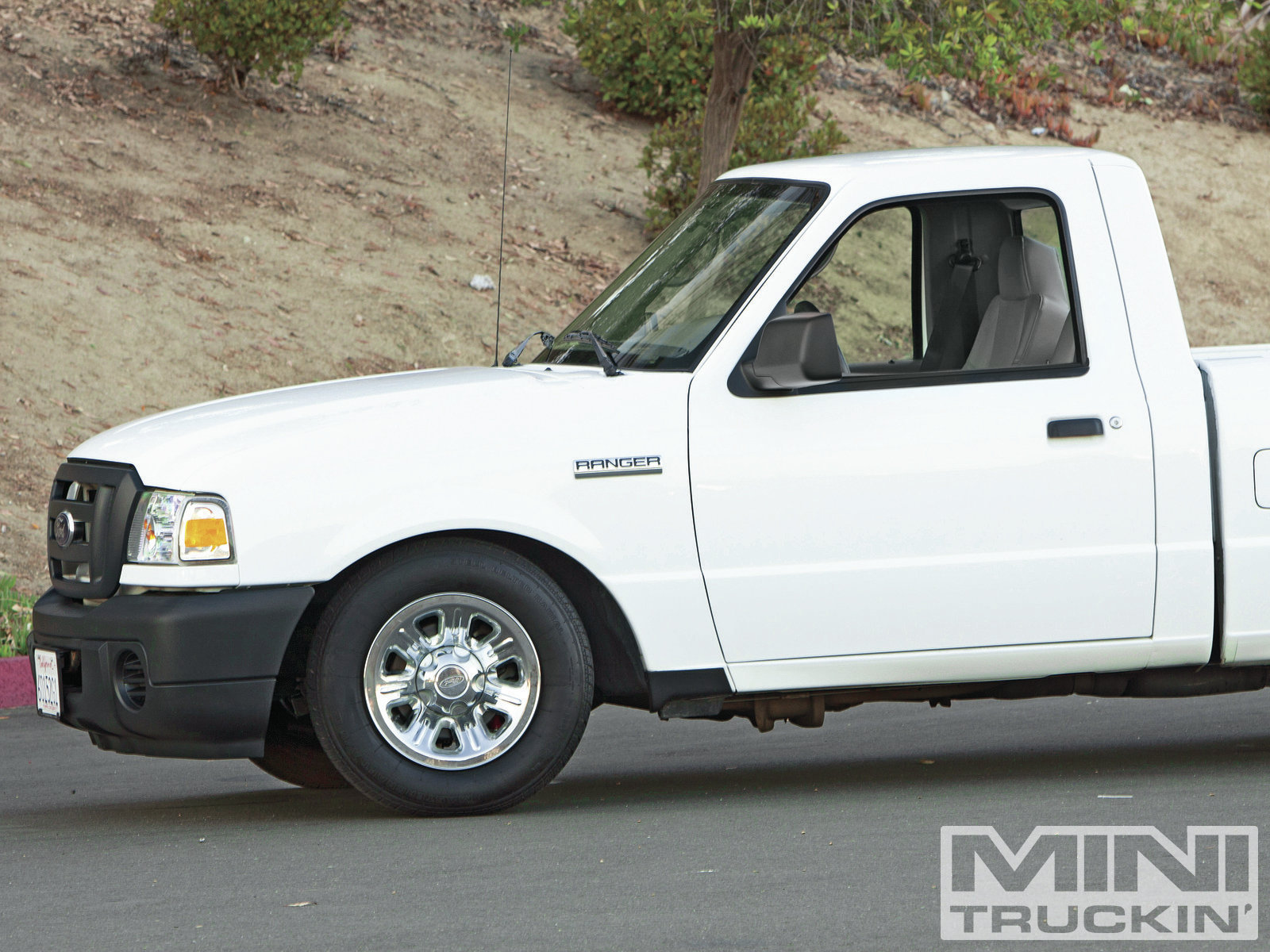 2009 Ford Ranger lowered