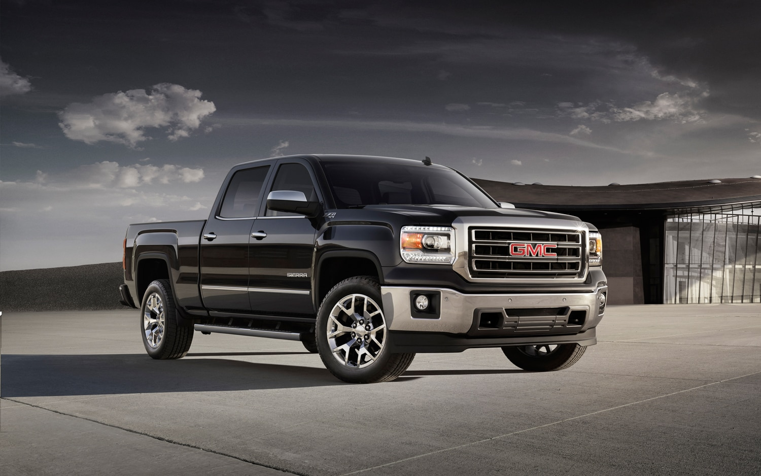 2014 GMC Sierra Front Three Quarter